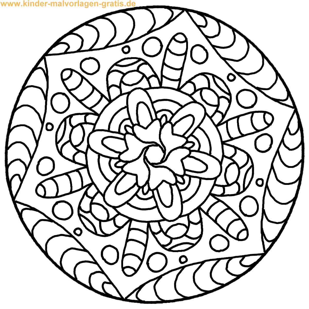 Mandalas F R Kinder Js58 Messianica